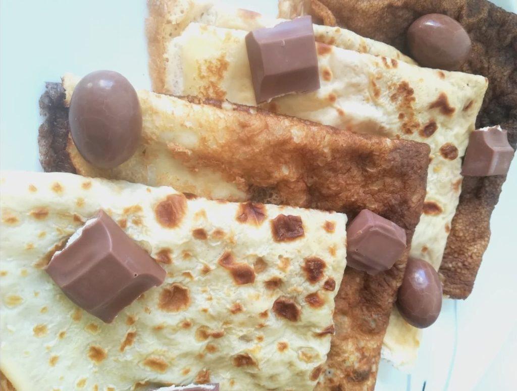 Recette Crêpes sucrées - Laetitia Nutritionniste Diététicienne à domicile Tours