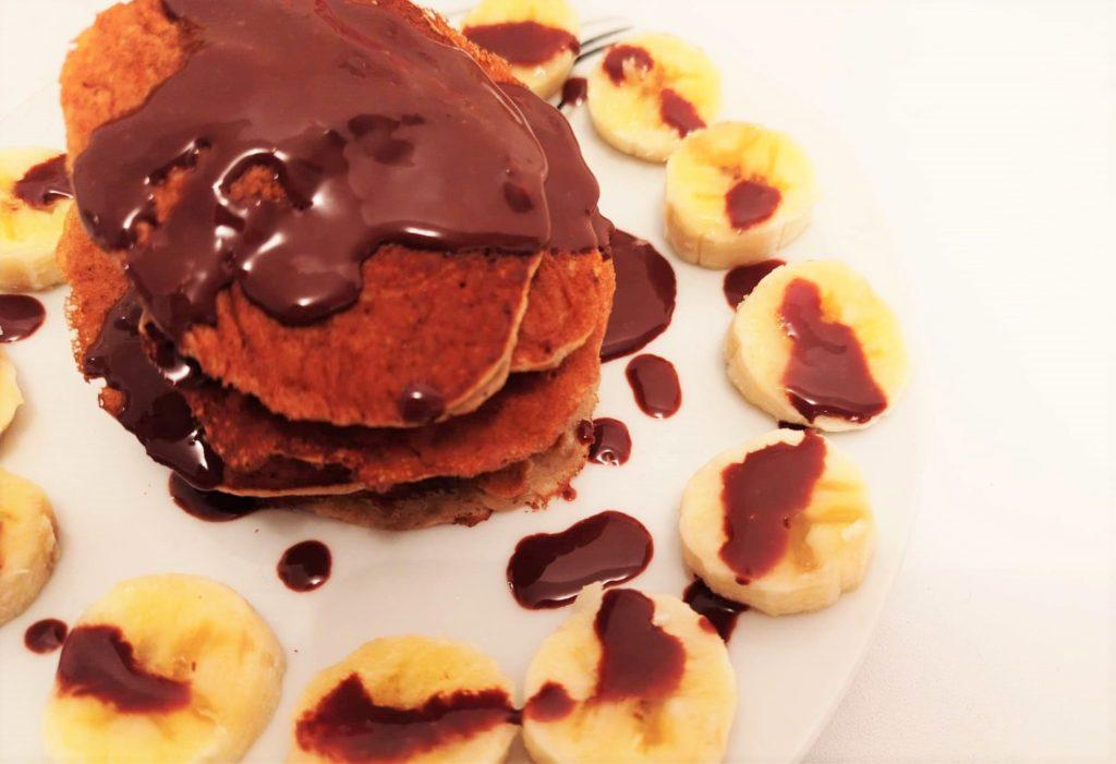 Recette pancakes healthy banane - Laetitia Nutritionniste Diététicienne à domicile Tours