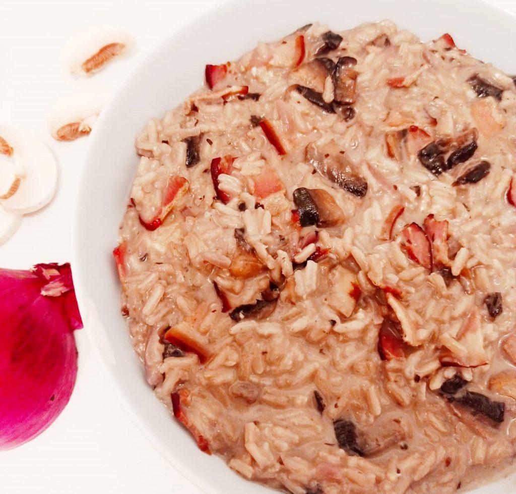 Recette riz crémeux gorgonzola - Laetitia Nutritionniste Diététicienne à domicile Tours