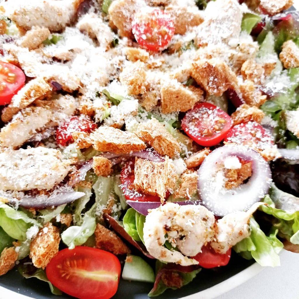 Recette salade césar - Laetitia Nutritionniste Diététicienne à domicile Tours