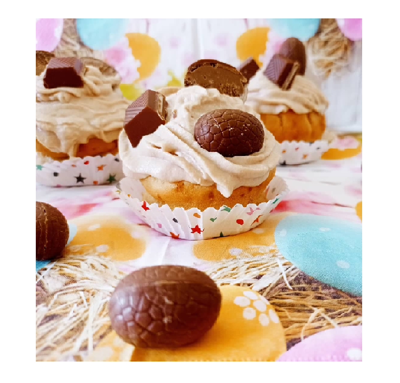 Recette cupcake kinder - Laetitia Nutritionniste Diététicienne à domicile Tours